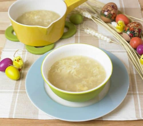 Stracciatella di uova Ricette per bambini 1-3 anni