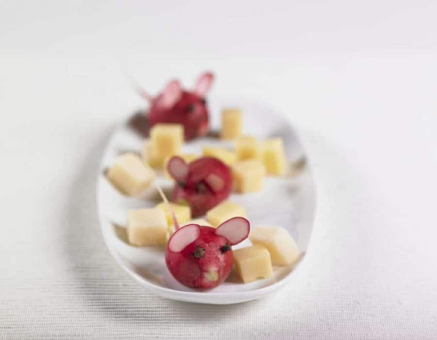 Topini e formaggio Ricette per bambini 4-10 anni