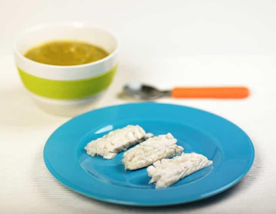 Filetto di branzino al forno con verdure Ricette per bambini 4-10 anni