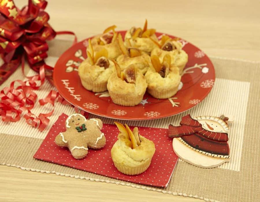 Cestini natalizi al profumo di fico Ricette per bambini 4-10 anni