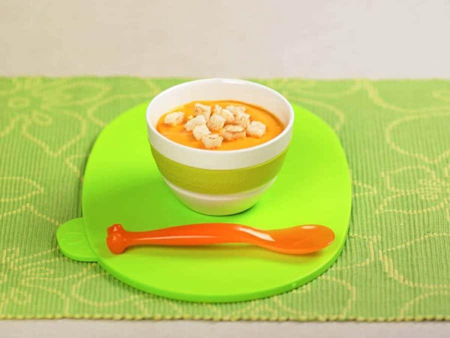 Crema di riso e carote ricette per bambini 1-3 anni