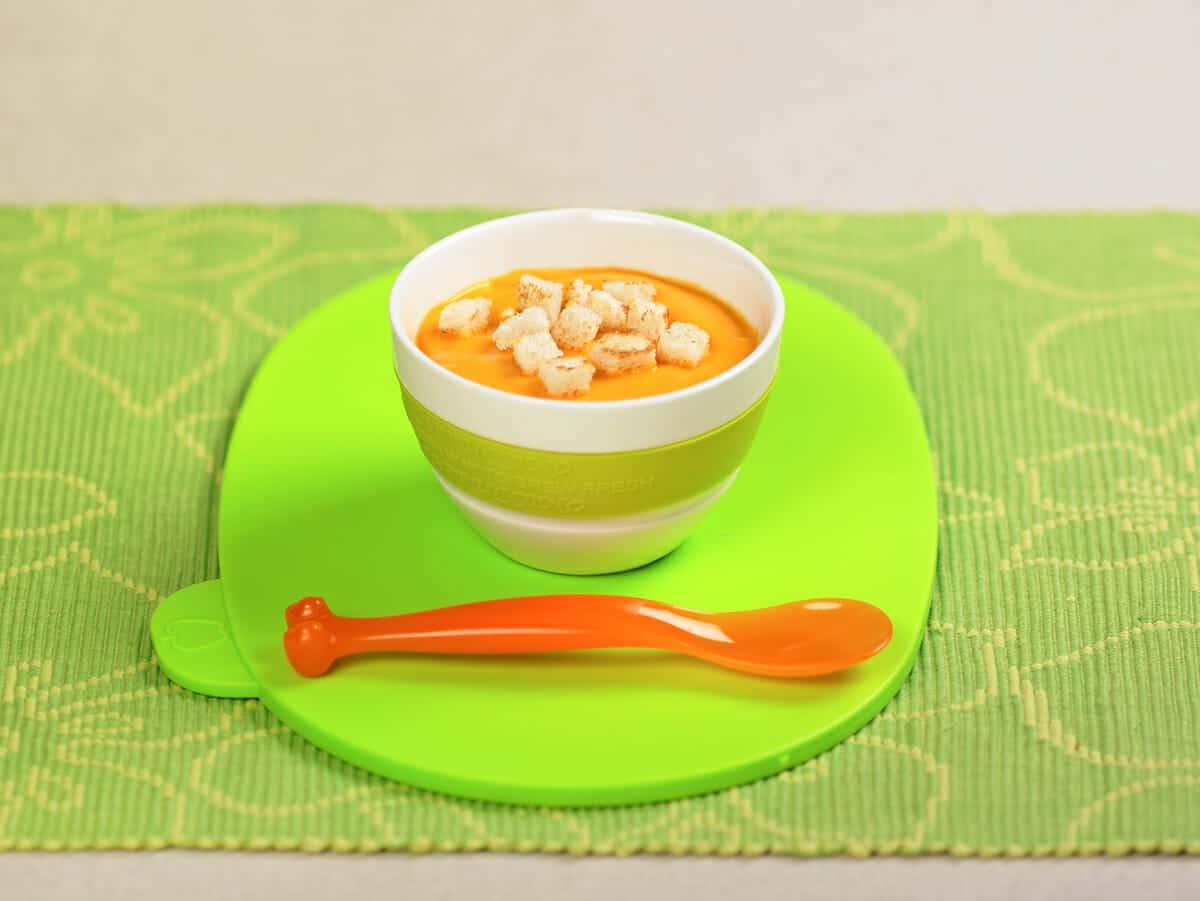 Crema di riso e carote