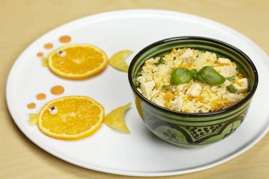 Couscous estivo agli agrumi ricette per bambini 4-10 anni