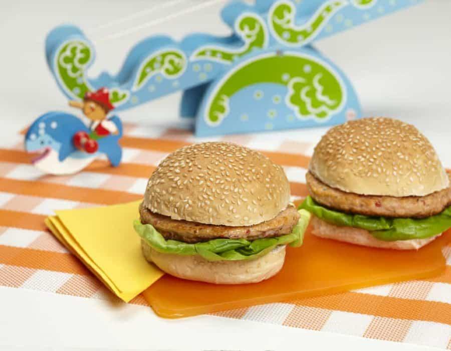 Hamburger del marinaio Ricette per bambini 4-10 anni