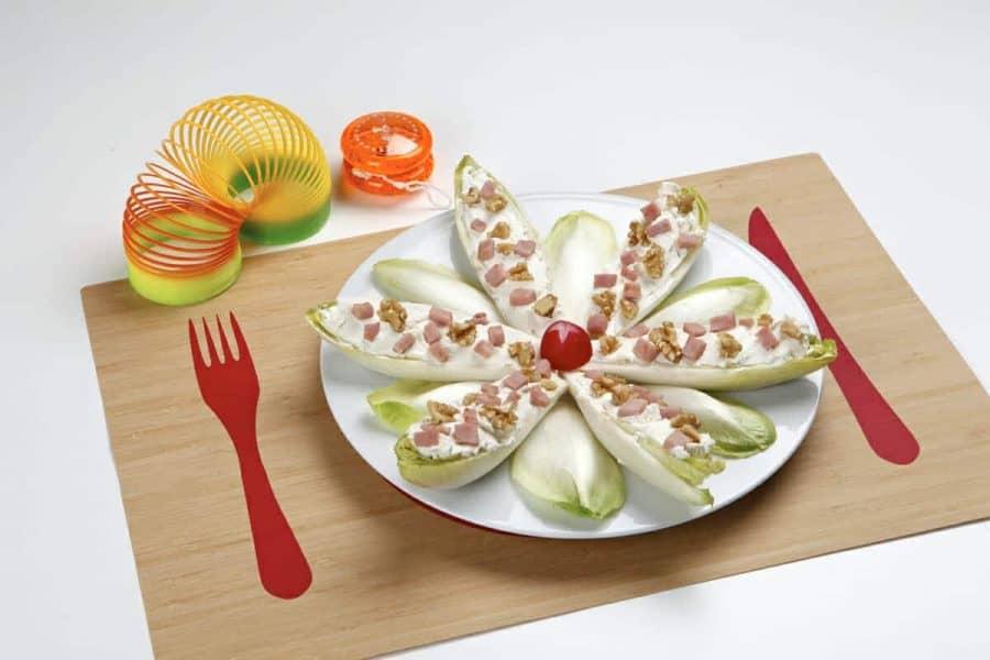 Indivia ripiena ricette per bambini 4-10 anni