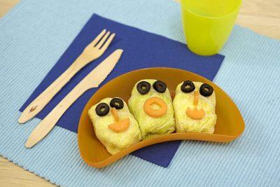 Involtini vegetali ricette per bambini 1-3 anni
