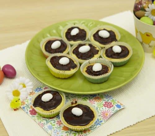 Muffin nido goloso Ricette per bambini 4-10 anni