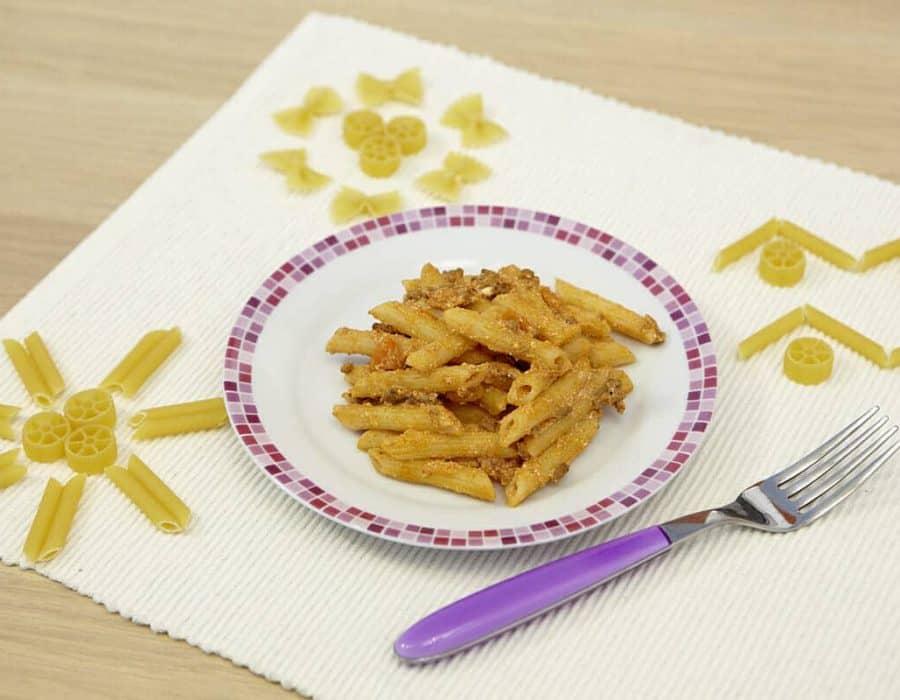 Pasticcio di pasta ricette per bambini 1-3 anni