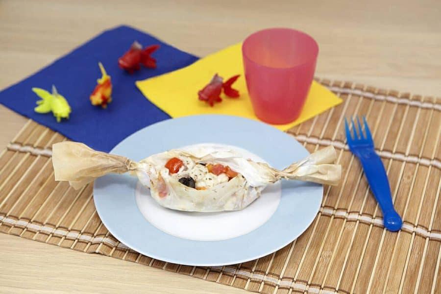 Pesce in caramelle al cartoccio ricette per bambini 1-3 anni