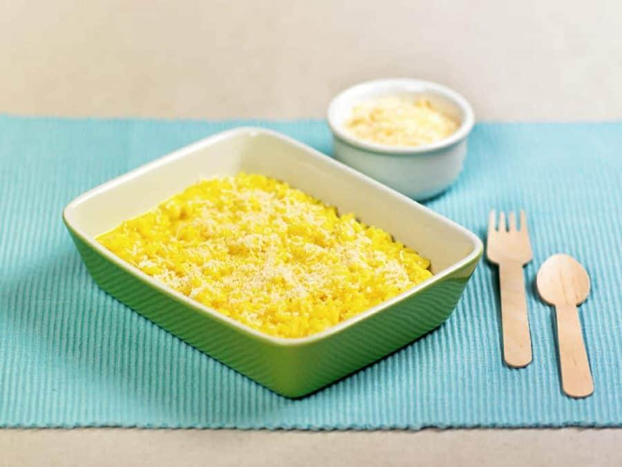 Risotto giallo allo zafferano ricette per bambini 1-3 anni