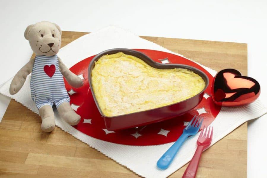Sformato di san valentino ricette per bambini 1-3 anni