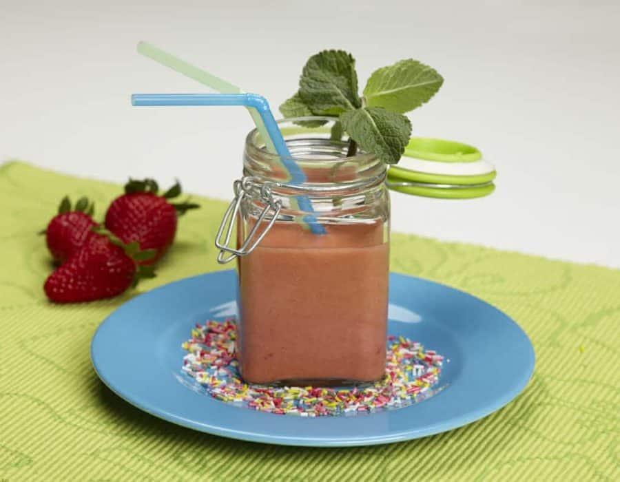 Sorbetto alle fragole ricette per bambini 1-3 anni
