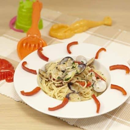 spaghetti pesce e vongole