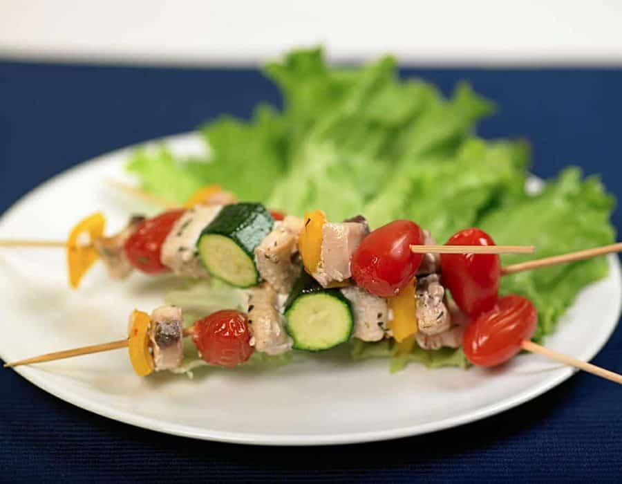 Spiedini di pesce spada Ricette per bambini 4-10 anni