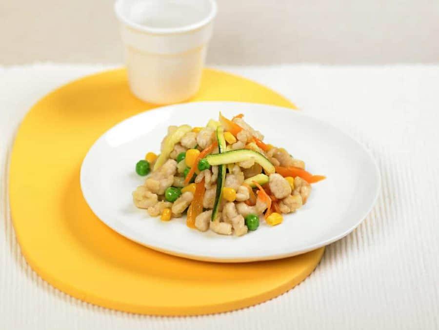 Tacchino con verdure ricette per bambini 1-3 anni