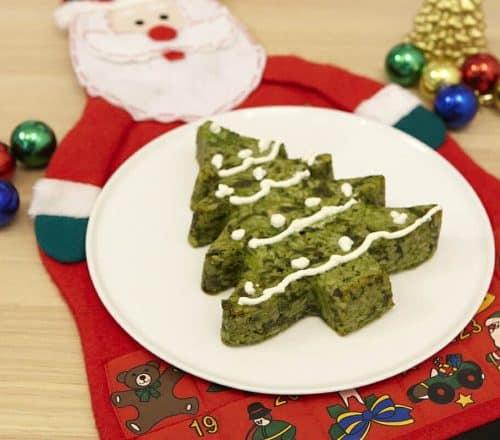 Timballo albero di Natale Ricette per bambini 1-3 anni