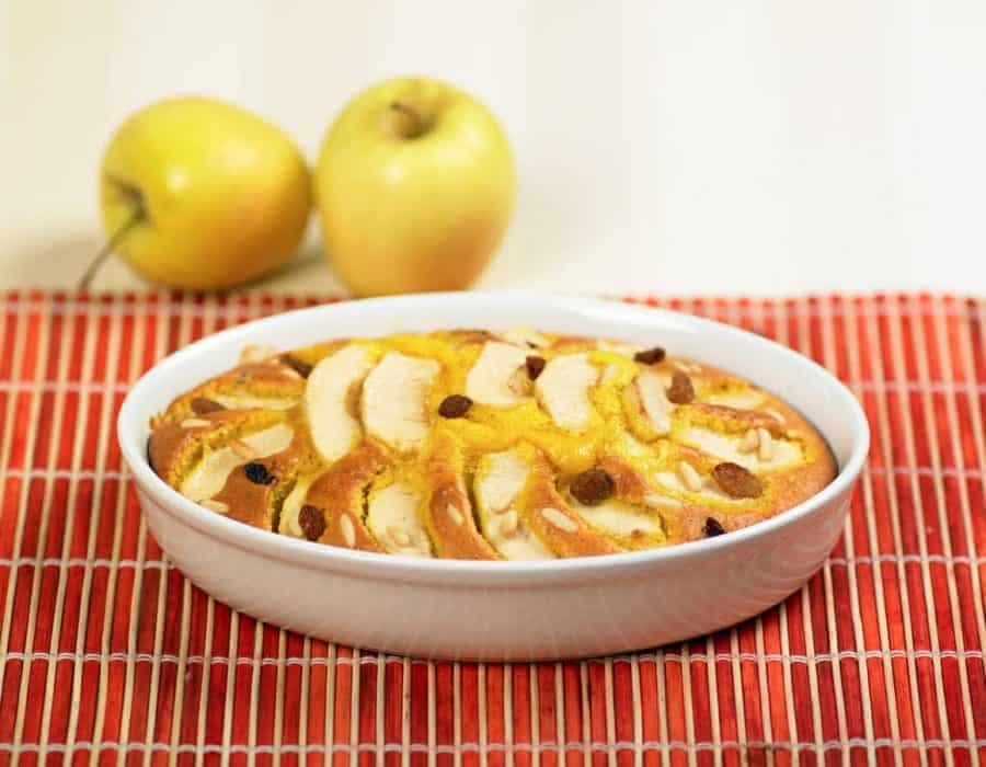 Torta con ricotta e mele Ricette per bambini 1-3 anni