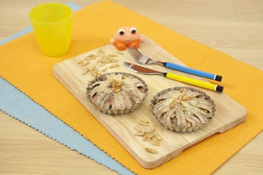Tortini di alici ricette per bambini 4-10 anni