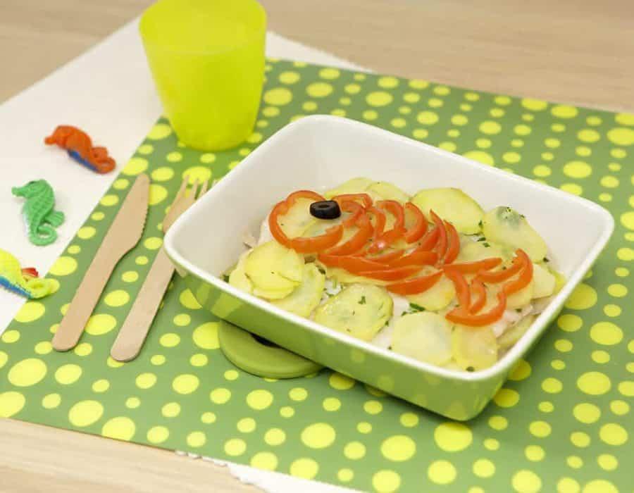 Tortino di patate e sogliola ricette per bambini 1-3 anni