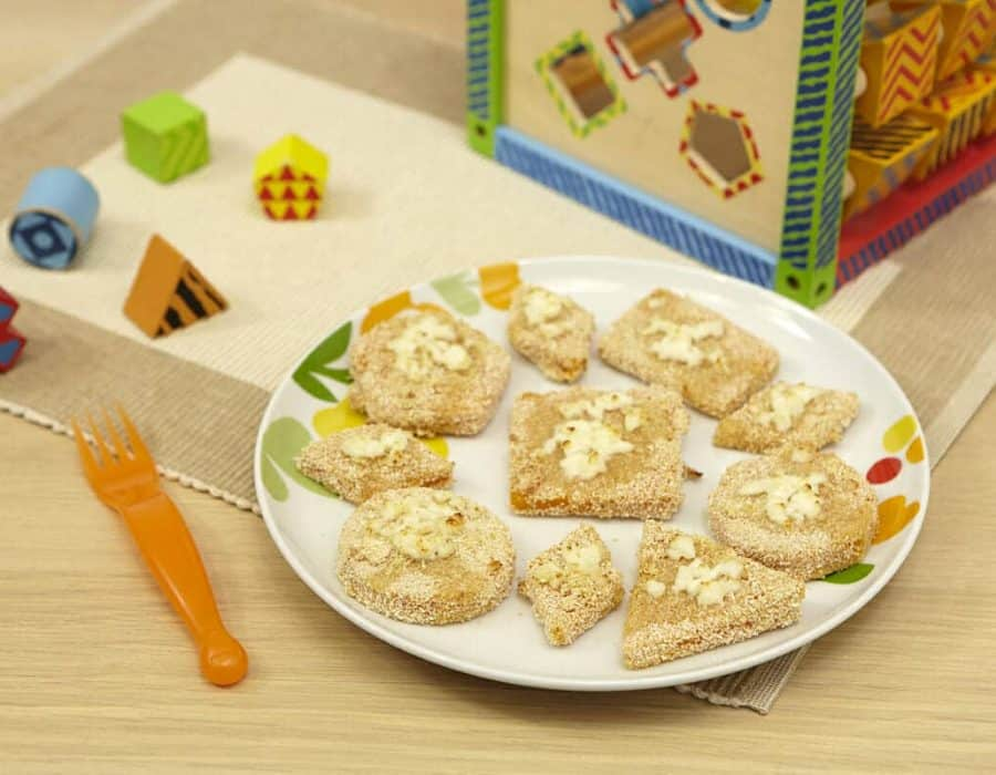 Zucca sfiziosa di archimede ricette per bambini 1-3 anni