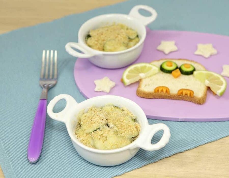 Zucchine e caciocavallo Ricette per bambini 1-3 anni