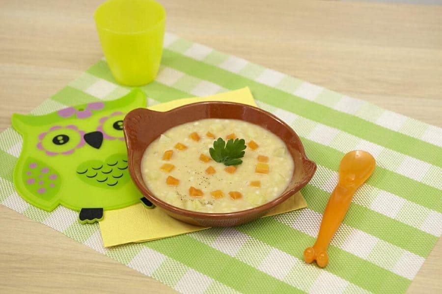 Zuppa di legumi ricette per bambini 1-3 anni