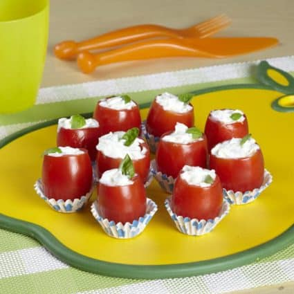 Bocconcini freschi di pomodorini