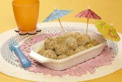 4 polpettine di quinoa