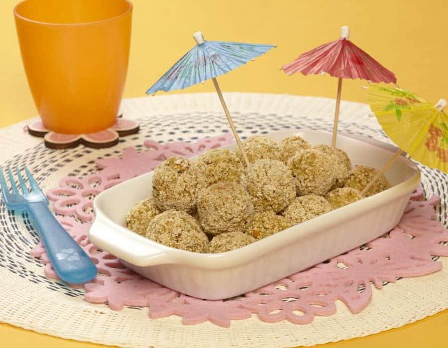 Polpettine di quinoa ricette per bambini 1-3 anni