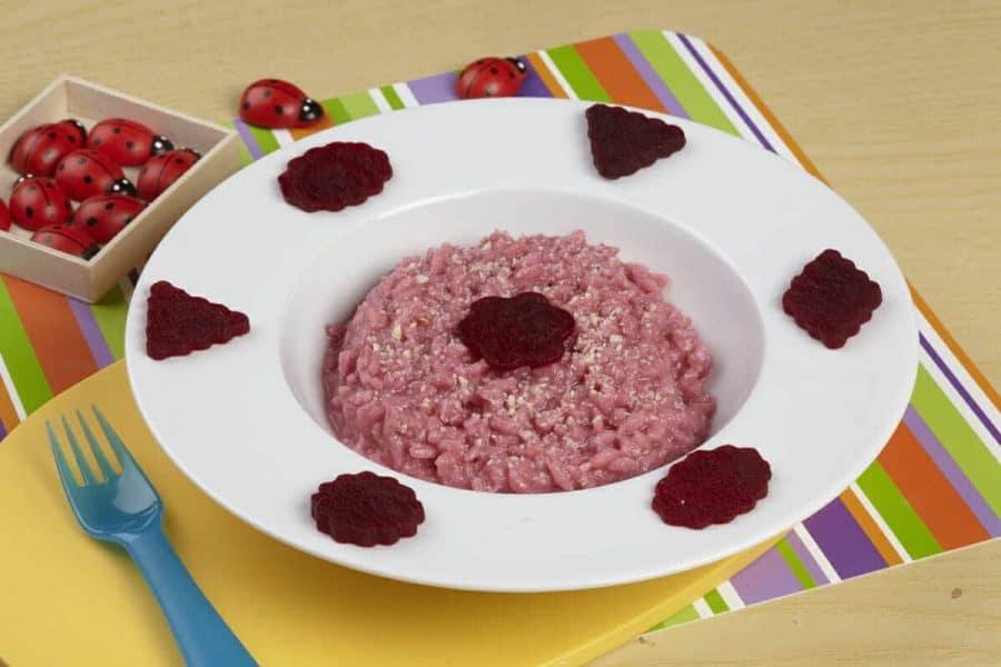 Risotto rosso ricette per bambini 1-3 anni
