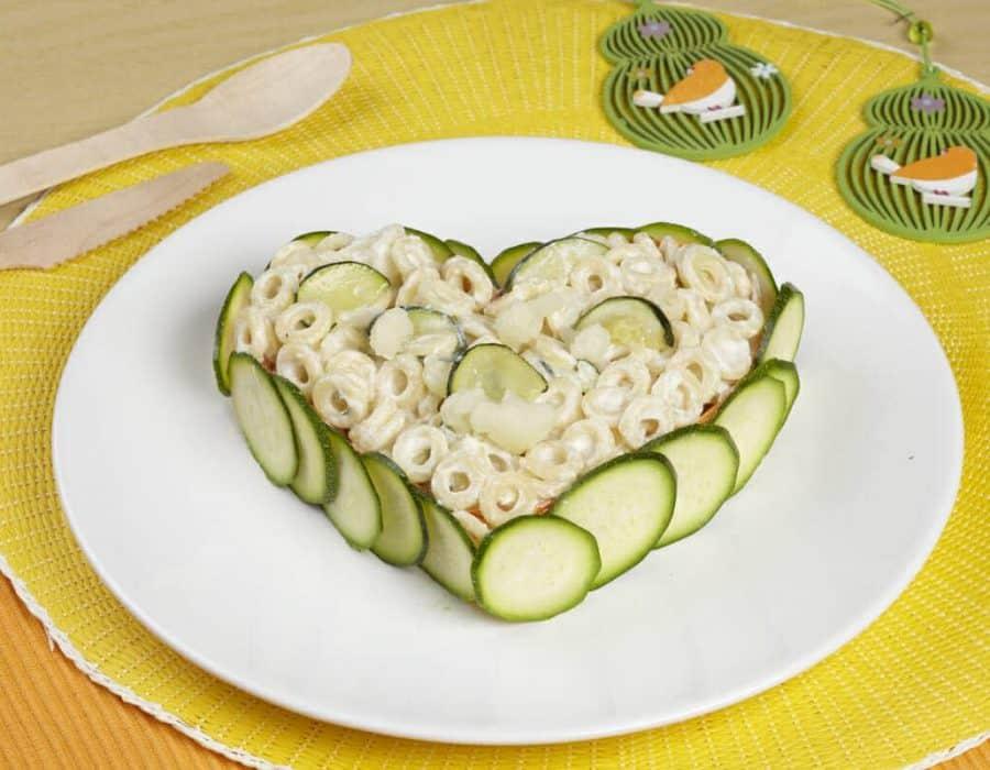 Anelli con ricotta e verdure