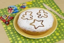 torta all'albume