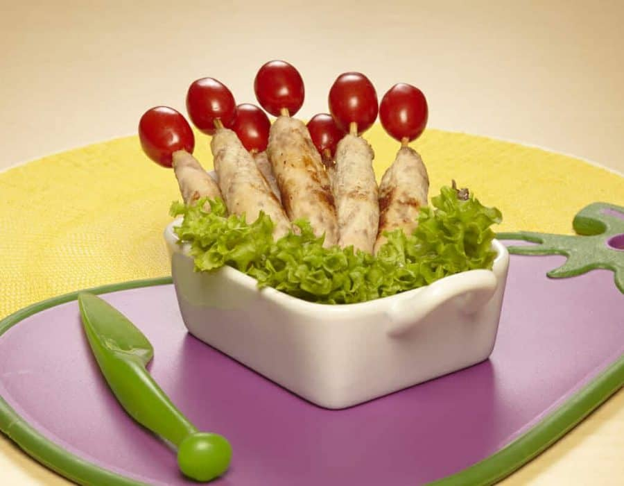 Spiedini con melanzane ricette per bambini 4-10 anni