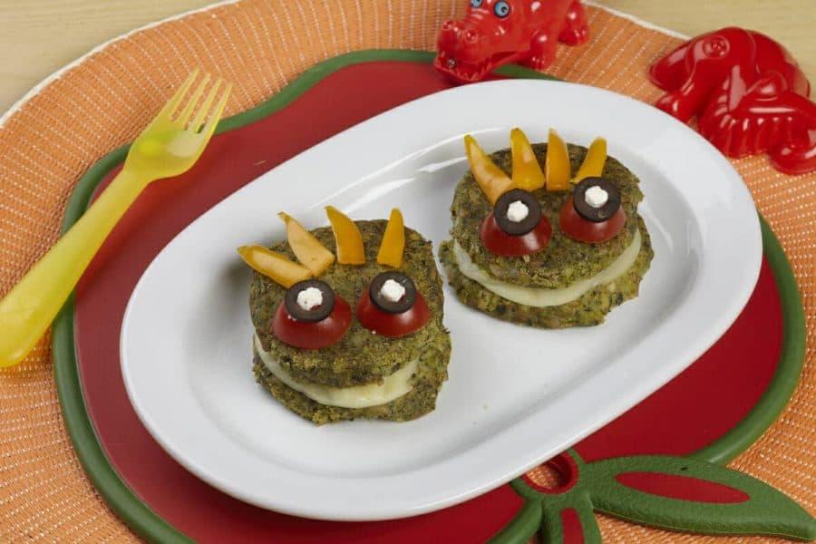 Medaglioni filanti del drago ricette per bambini 1-3 anni