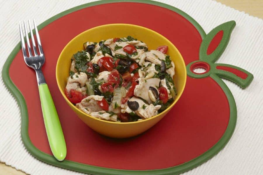 Bocconcini di coniglio con olive e bietola ricette per bambini 4-10 anni