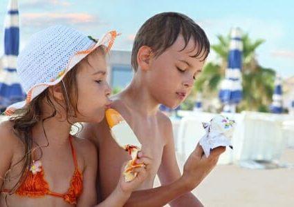 bambini gelato