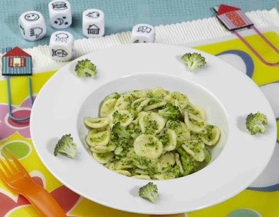 Orecchiette con broccoletti Ricette per bambini 4-10 anni