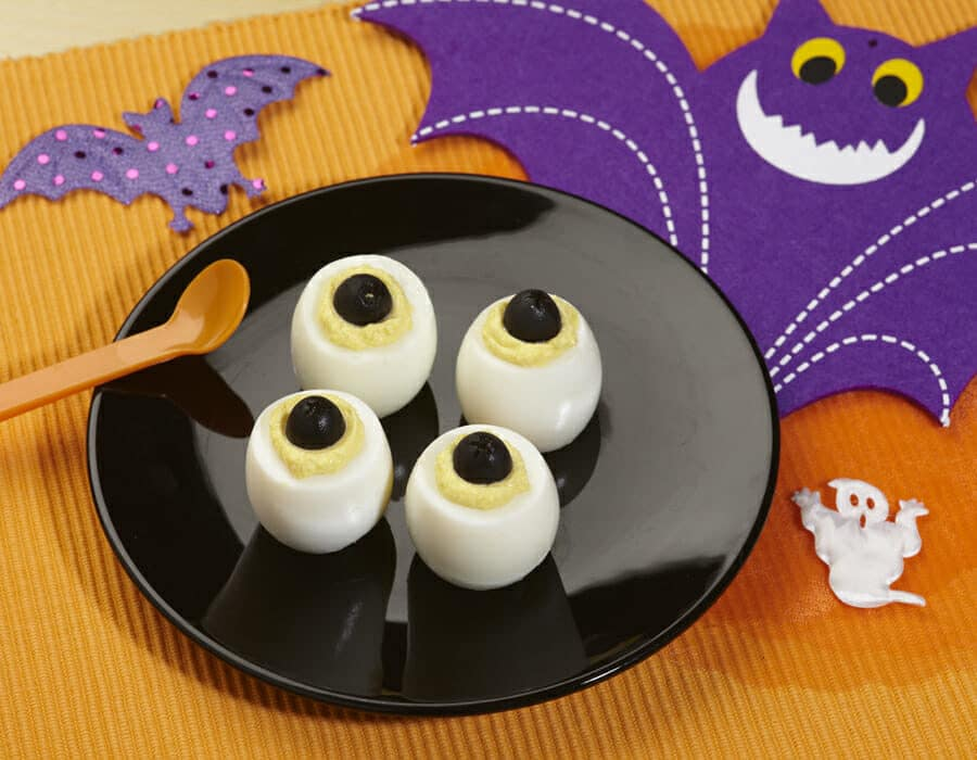 Occhi di pipistrello Ricette per bambini 1-3 anni