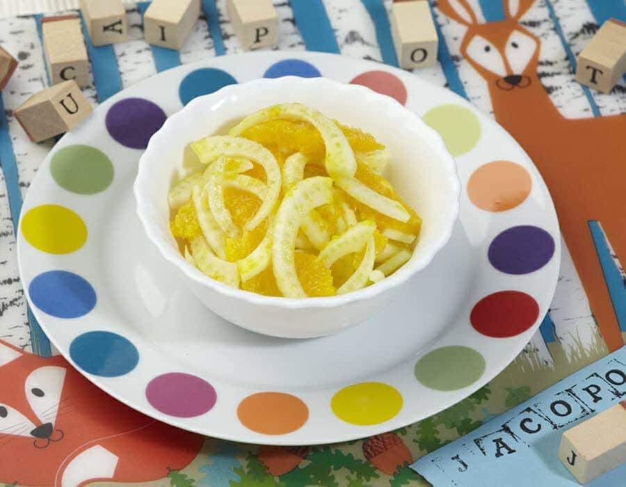 Insalata invernale dai due colori ricette per bambini 4-10 anni