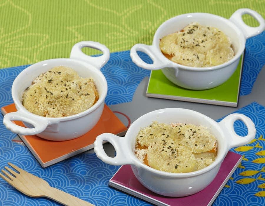 Tortino di zucca e patate Ricette per bambini 4-10 anni