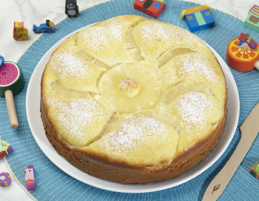 Torta morbida all'ananas Ricette per bambini 1-3 anni