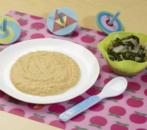 Purè di fave con bietoline Ricette per bambini 1-3 anni