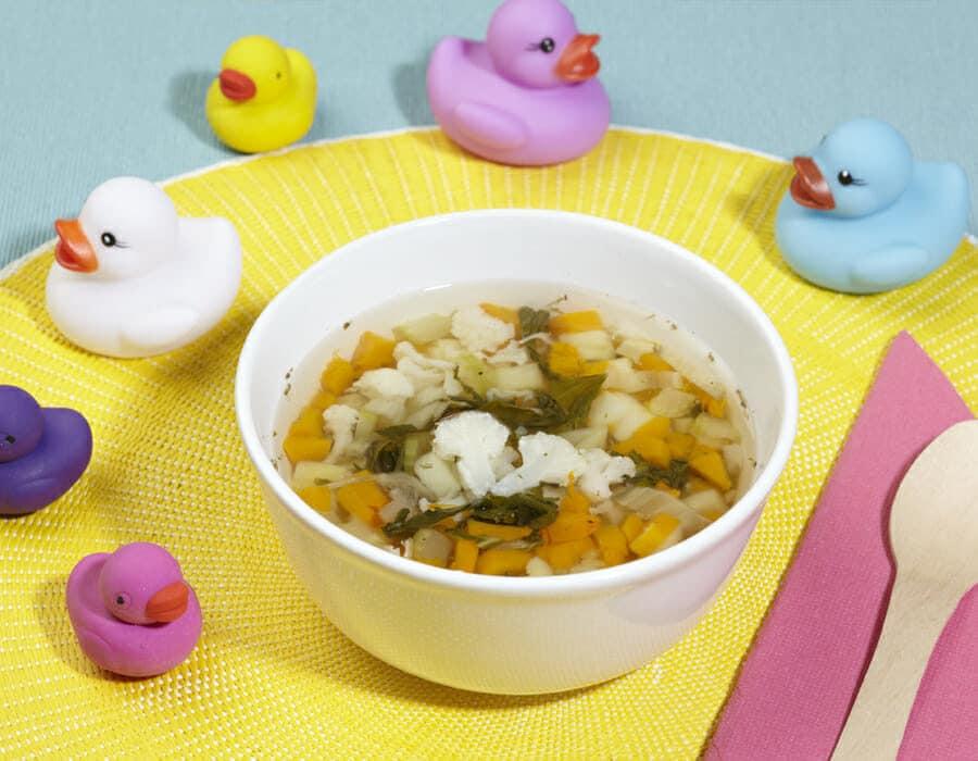 Zuppa delle sere d'autunno Ricette per bambini 4-10 anni