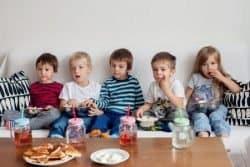 bambini TV cibo