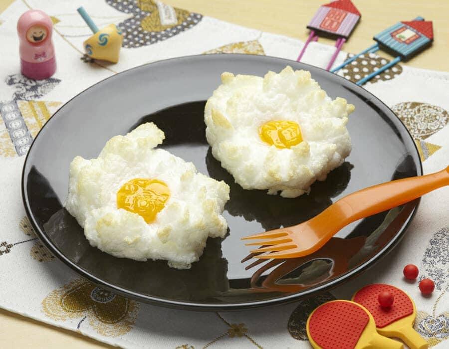 Bucaneve di uova ricette per bambini 4-10 anni