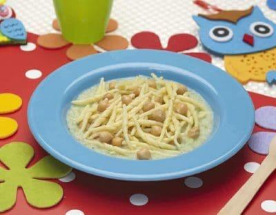 Trofie con crema di cavolfiore e ceci ricette per bambini 1-3 anni