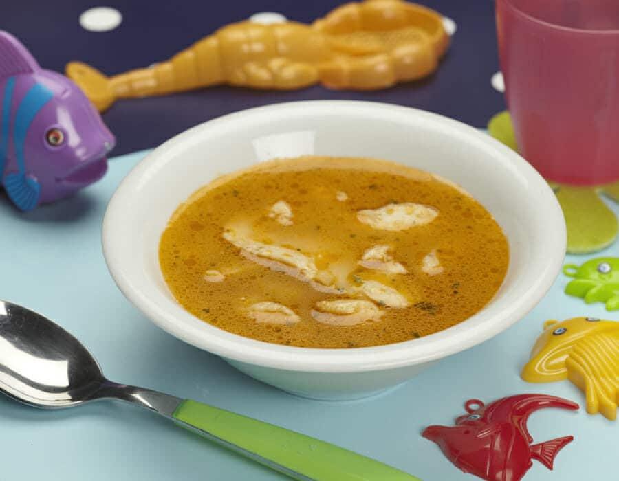 Zuppa del pescatore ricette per bambini 1-3 anni