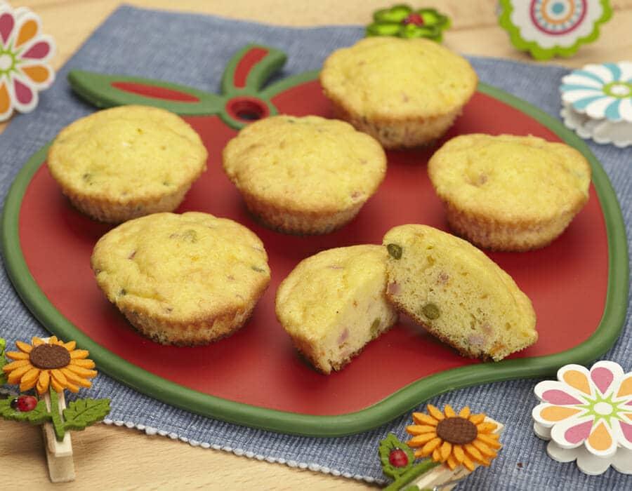 Muffin di primavera Ricette per bambini 1-3 anni