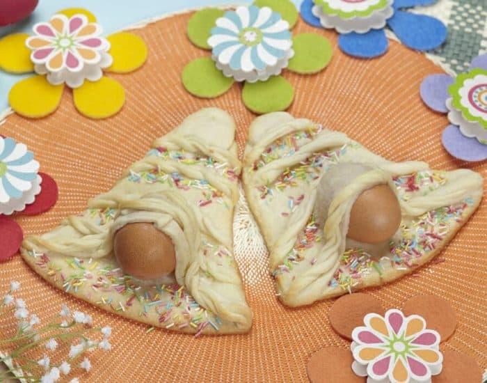 Campana di Pasqua felice Ricette per bambini 4-10 anni