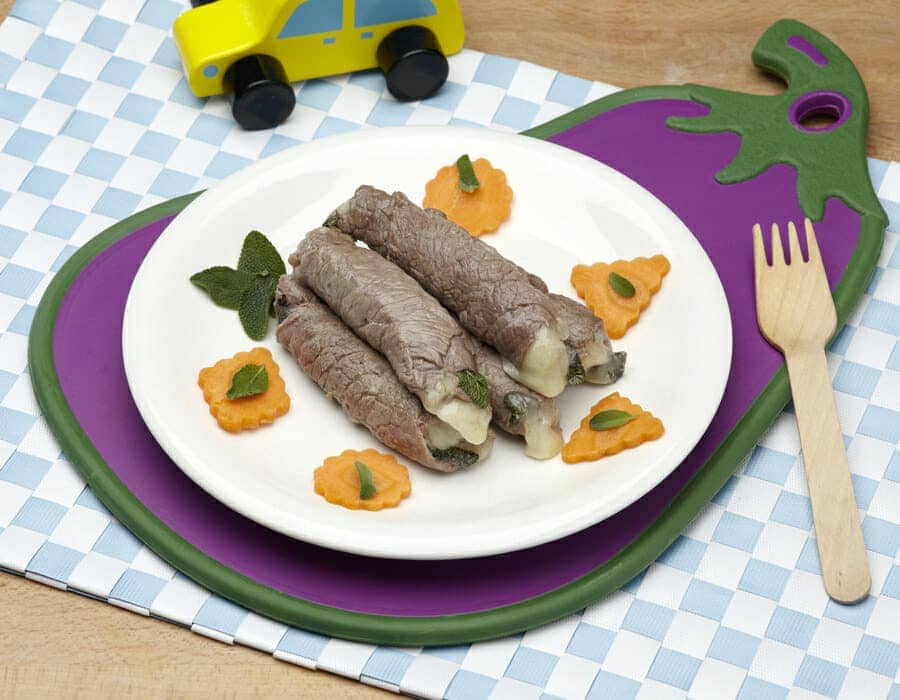 Involtini di carpaccio ricette per bambini 4-10 anni